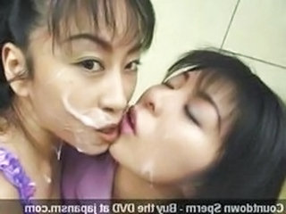 Asian Bukkake Swallow Asian Lesbian Sperm