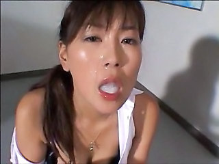 Asian Cumshot Pornstar Swallow Asian Cumshot