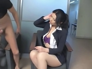 Asian  Pantyhose Secretary Pantyhose    Boss  Office Busty Panty Asian