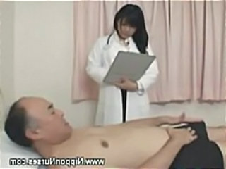 Asian Daddy Doctor Old and Young Uniform Daddy Old And Young Nurse Asian Nurse Young