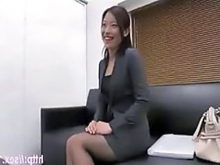 Asian Chinese  Secretary Stockings Chinese Stockings