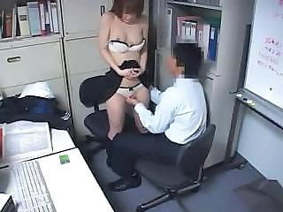 Asian HiddenCam Office Voyeur Caught Forced