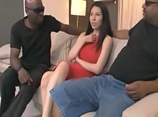 Asian Interracial  Pornstar Threesome Interracial Threesome    Threesome Interracial