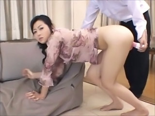 Asian Japanese  Mom Old and Young Toy Old And Young