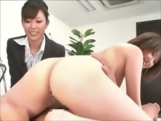 Asian Ass Japanese  Office Secretary Threesome       Senior