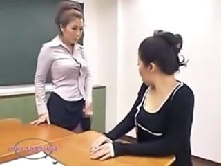 Asian  School Teacher Jerk  School Teacher Teacher Asian