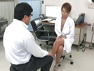 Asian Doctor  Uniform Asian Cumshot Cumshot Tits