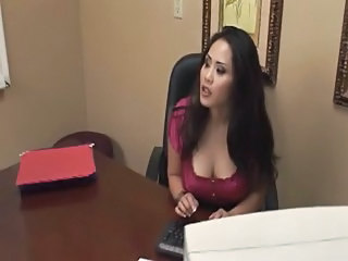 Asian  Office Secretary Asian Big Tits  Big Tits Asian Tits Office     Office Pussy