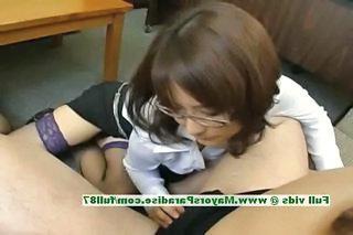 Asian Glasses Handjob  Pornstar Stockings Teacher Stockings Handjob Asian    Teacher Asian Innocent